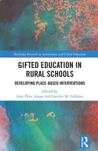 Cover Gifted Education in Rural Schools