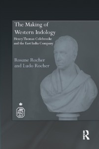 Cover Making of Western Indology