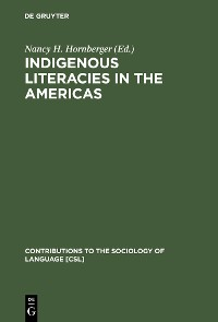 Cover Indigenous Literacies in the Americas