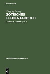 Cover Gotisches Elementarbuch