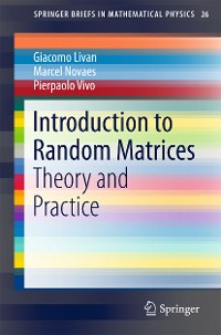 Cover Introduction to Random Matrices