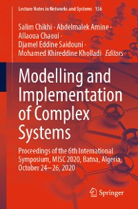 Cover Modelling and Implementation of Complex Systems