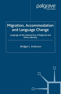 Cover Migration, Accommodation and Language Change