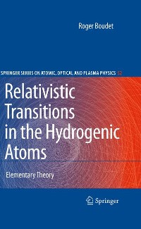 Cover Relativistic Transitions in the Hydrogenic Atoms