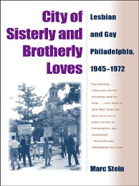 Cover City of Sisterly and Brotherly Loves