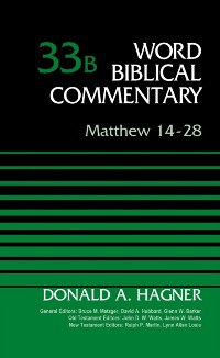 Cover Matthew 14-28, Volume 33B