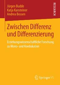 Cover Zwischen Differenz und Differenzierung