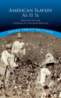 Cover American Slavery As It Is