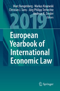 Cover European Yearbook of International Economic Law 2019