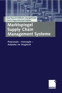 Cover Marktspiegel Supply Chain Management Systeme