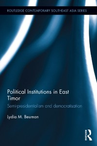 Cover Political Institutions in East Timor