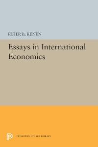 Cover Essays in International Economics