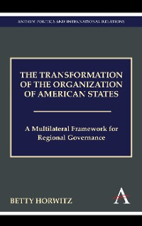 Cover The Transformation of the Organization of American States