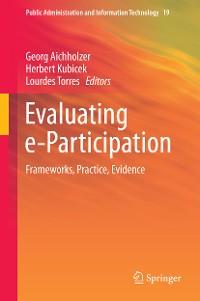 Cover Evaluating e-Participation