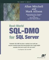 Cover Real-World SQL-DMO for SQL Server
