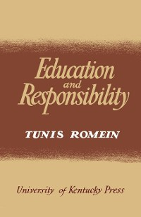 Cover Education and Responsibility