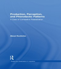 Cover Production, Perception, and Phonotactic Patterns