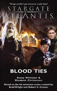 Cover STARGATE ATLANTIS Blood Ties