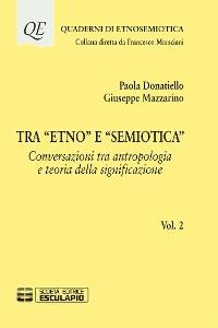 """Cover Tra """"Etno"""" e """"Semiotica"""""""