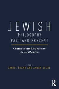 Cover Jewish Philosophy Past and Present
