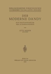 Cover Der Moderne Dandy