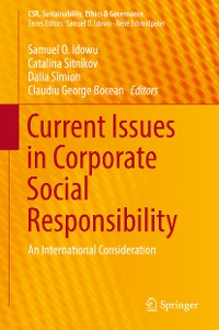 Cover Current Issues in Corporate Social Responsibility