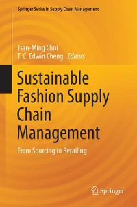 Cover Sustainable Fashion Supply Chain Management