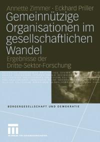 Cover Gemeinnutzige Organisationen im gesellschaftlichen Wandel