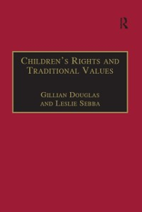 Cover Children's Rights and Traditional Values
