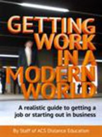Cover Getting Work in a Modern World