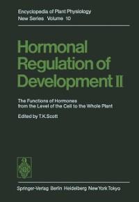 Cover Hormonal Regulation of Development II