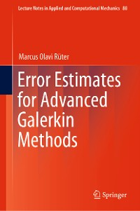 Cover Error Estimates for Advanced Galerkin Methods