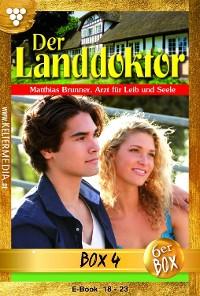 Cover Der Landdoktor Jubiläumsbox 4 – Arztroman