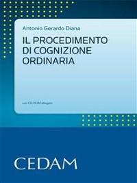 Cover Il procedimento di cognizione ordinaria