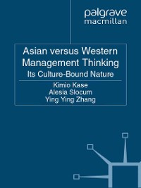 Cover Asian versus Western Management Thinking