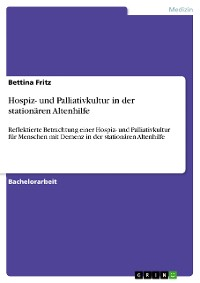 Cover Hospiz- und Palliativkultur in der stationären Altenhilfe