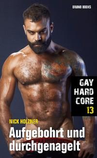 Cover Gay Hardcore 13: Aufgebohrt und durchgenagelt