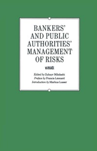 Cover Bankers' and Public Authorities' Management of Risks