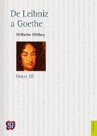 Cover Obras III. De Leibniz a Goethe