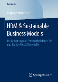 Cover HRM & Sustainable Business Models