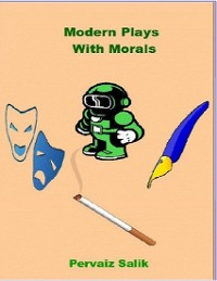 Cover Modern Plays With Morals
