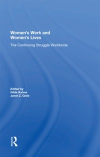 Cover Women's Work And Women's Lives