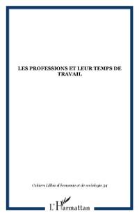 Cover LES PROFESSIONS ET LEUR TEMPS DE TRAVAIL