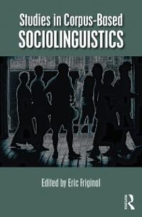 Cover Studies in Corpus-Based Sociolinguistics