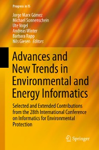 Cover Advances and New Trends in Environmental and Energy Informatics