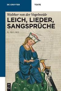 Cover Leich, Lieder, Sangsprüche