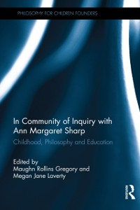 Cover In Community of Inquiry with Ann Margaret Sharp