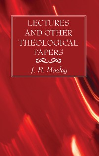 Cover Lectures and Other Theological Papers