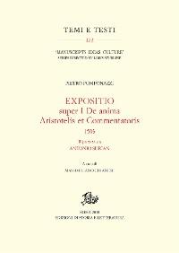 Cover Expositio super I De anima Aristotelis et Commentatoris, 1503