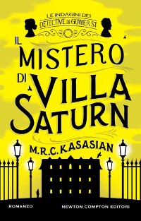 Cover Il mistero di Villa Saturn